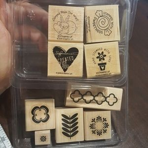 Stampin up rubber stamps